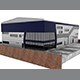Factory Building, Composite Panel Facade - 3DOcean Item for Sale