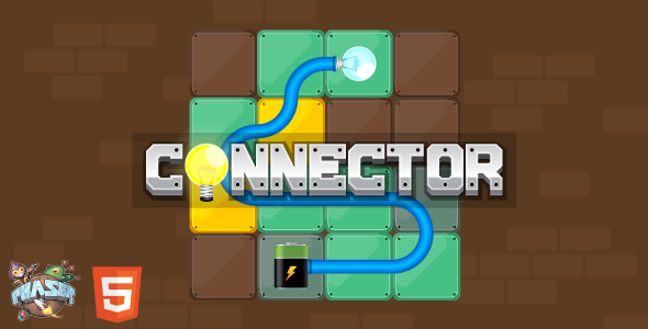 Connector - HTML5 Puzzle Game (Phaser 3) Download