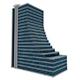Simple Skyscraper Model with Terraces - 3DOcean Item for Sale