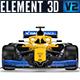 F1 McLaren MCL - 3DOcean Item for Sale