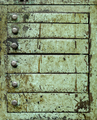 Dirty green metal closet with drawers - PhotoDune Item for Sale