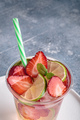 Strawberry and lime water - PhotoDune Item for Sale