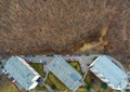 Aerial View of Urban Environment, City Expansion Against Virgin Nature, Cluj Napoca, Romania - PhotoDune Item for Sale