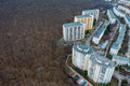 Aerial View of Urban Environment, City Taking Place of Nature - PhotoDune Item for Sale