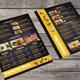 Blackboard Menu Flyer - GraphicRiver Item for Sale