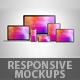 Responsive Web Mockups - GraphicRiver Item for Sale