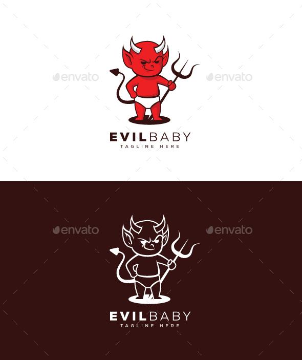 Evil Baby Logo