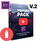 Youtube Pack - MOGRTs for Premiere & Extension Tool - VideoHive Item for Sale