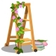 The Wooden Mobile Step Ladder Is Decorated - GraphicRiver Item for Sale