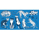 Collection of Cats. Washing, Playing and Sleeping - GraphicRiver Item for Sale