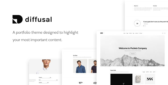 Diffusal - Portfolio Creative WordPress Theme