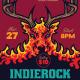 Hell Deer Indie Rock Flyer - GraphicRiver Item for Sale