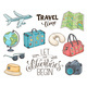 Vector Travel Objects - GraphicRiver Item for Sale