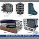 Building Pack (5 Buildings of Residental and Industrial) - 3DOcean Item for Sale
