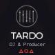 DJ TARDO // Music & Producer Bootstrap Template - ThemeForest Item for Sale
