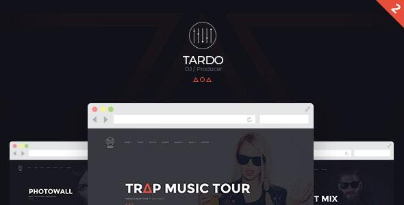 DJ TARDO // Music & Producer Bootstrap Template