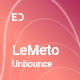LeMeto - Isometric Business Unbounce Landing Page - ThemeForest Item for Sale