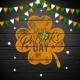 Saint Patrick's Day Design with National Color - GraphicRiver Item for Sale