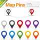 Map Pins - GraphicRiver Item for Sale