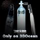 Tank & Fins - 3DOcean Item for Sale