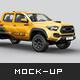 Toyota Tacoma Pickup Mockup - GraphicRiver Item for Sale