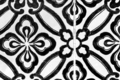 Black floral tiles - PhotoDune Item for Sale