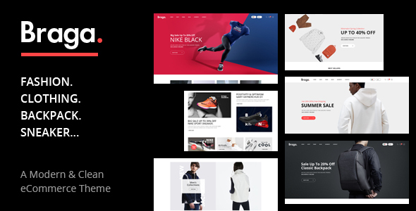 Braga – Fashion Theme for WooCommerce WordPress Preview