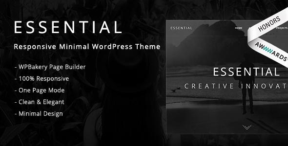 essential premium wordpress teması
