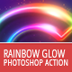 Rainbow Glow - Photoshop Action - GraphicRiver Item for Sale