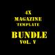 Magazine Bundle Vol. 5 - GraphicRiver Item for Sale