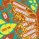 Butterfly Indie Rock Flyer - GraphicRiver Item for Sale