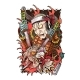 Japanese Warrior with Two Swords Kills a Demon - GraphicRiver Item for Sale