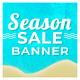 Season Sale Social Media Newsfeed Banner Set - 05 Designs - GraphicRiver Item for Sale