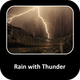 Rain with Thunder - AudioJungle Item for Sale