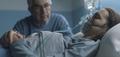 Senior man assisting her daughter at the hospital - PhotoDune Item for Sale