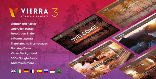 Vierra Hotel, Resort, Inn & Booking
