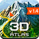 3D Map Generator - Atlas - From Heightmap to real 3D map - GraphicRiver Item for Sale
