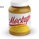 Glass Jar Mockup 1000ml - GraphicRiver Item for Sale