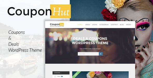 CouponHut - Coupons & Deals WordPress Theme