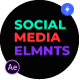 Social Media Elements - VideoHive Item for Sale