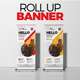 Roll Up Banner X Banner - GraphicRiver Item for Sale