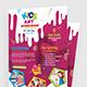 Kids Art Workshop Flyer - GraphicRiver Item for Sale
