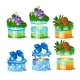 Set of Gift Boxes with Natural Decoration - GraphicRiver Item for Sale