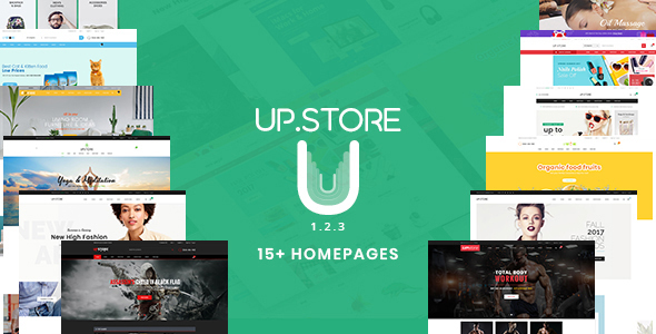 UpStore - Responsive Multi-Purpose WordPress Theme