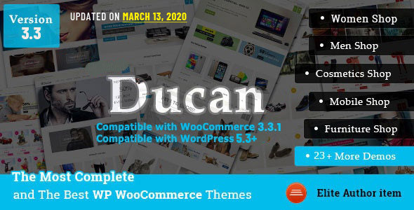 Ducan - Start An Online Store with WooCommerce WP Theme