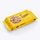 Cookies Flow Pack Mockup. Half-Side view - GraphicRiver Item for Sale