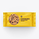 Cookies Flow Pack Mockup. Top View. 2 Scenes - GraphicRiver Item for Sale