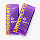 2 PSD. Chocolate Bar Packaging Mockup - GraphicRiver Item for Sale