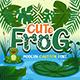 Cute Frog - Craf Font - GraphicRiver Item for Sale