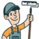 Retro Painter Logo - GraphicRiver Item for Sale